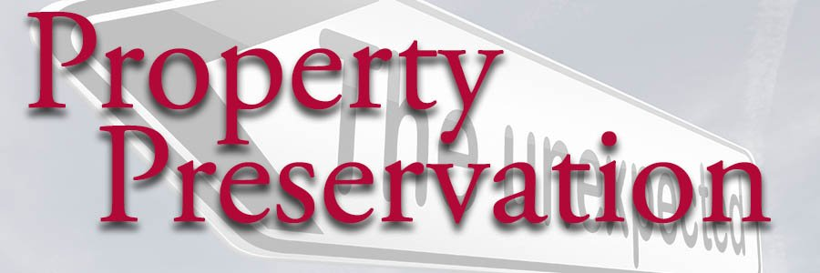 Property Preservation part of the services